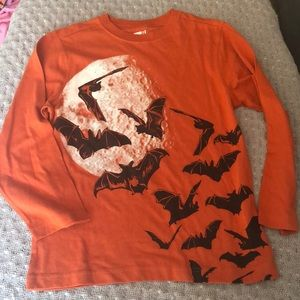 ❣️5/$15❣️CRAZY 8 boys long-sleeved orange shirt